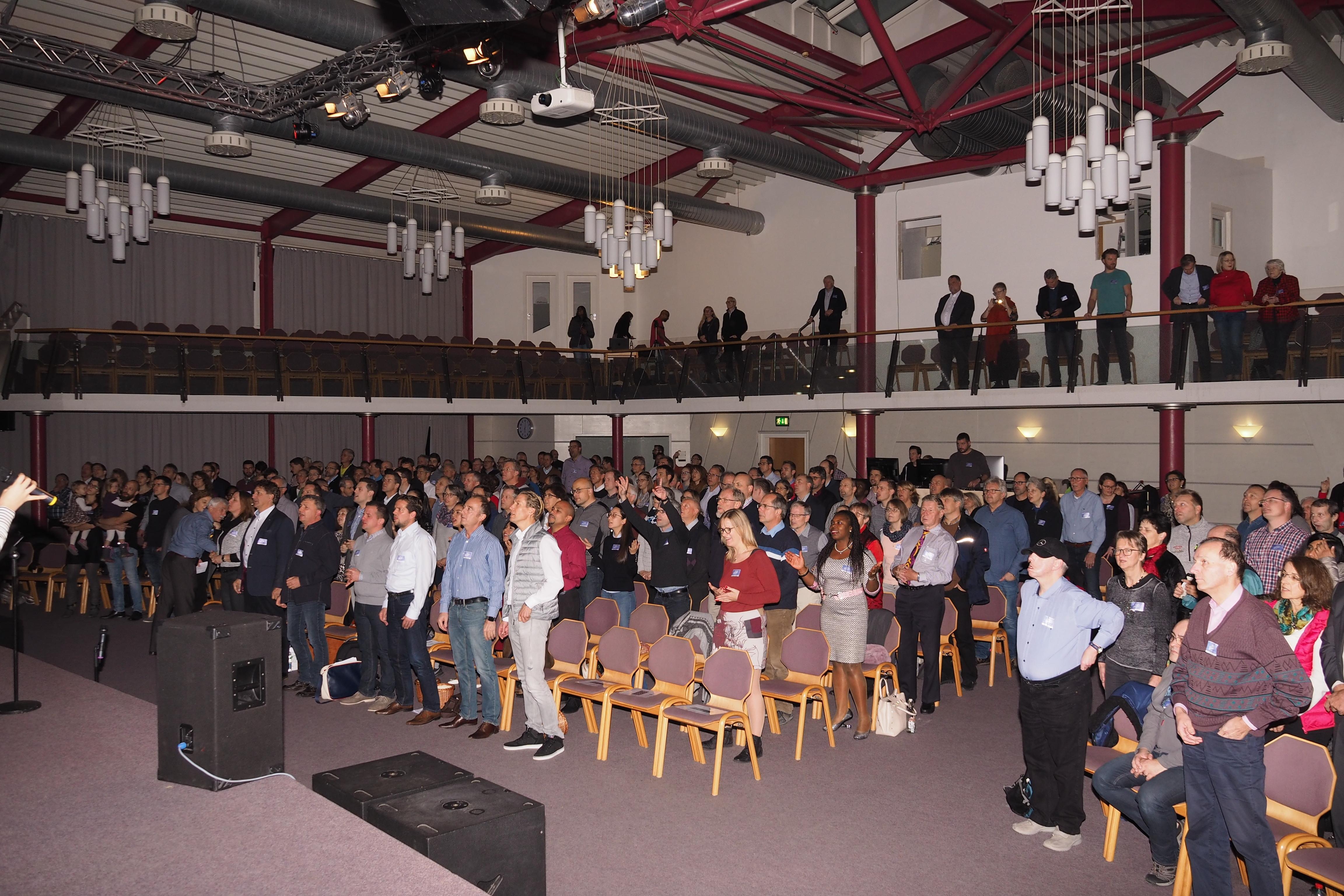 13. Daimler-Christen-Treffen – Plenum 1