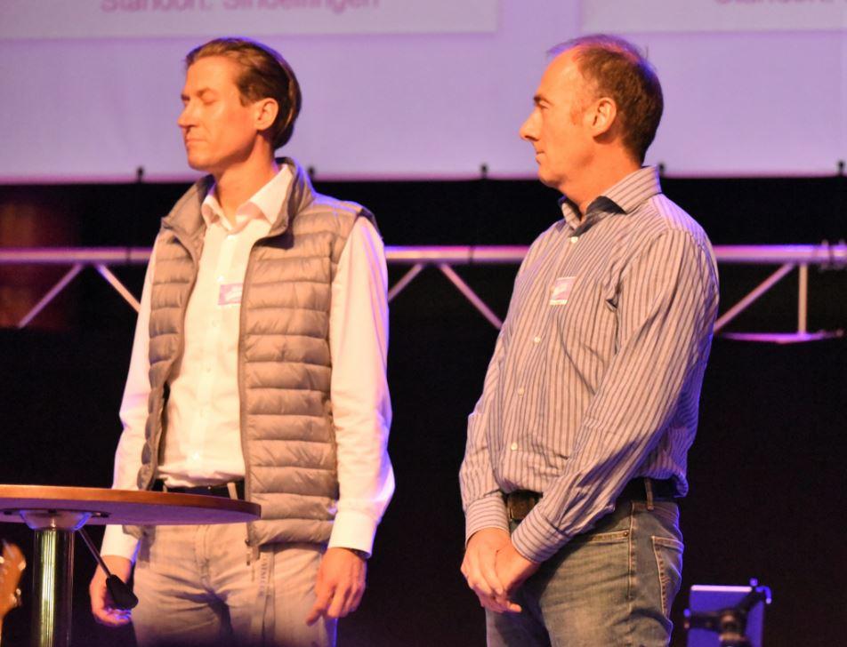 13. Daimler-Christen-Treffen – Michael und Sigi