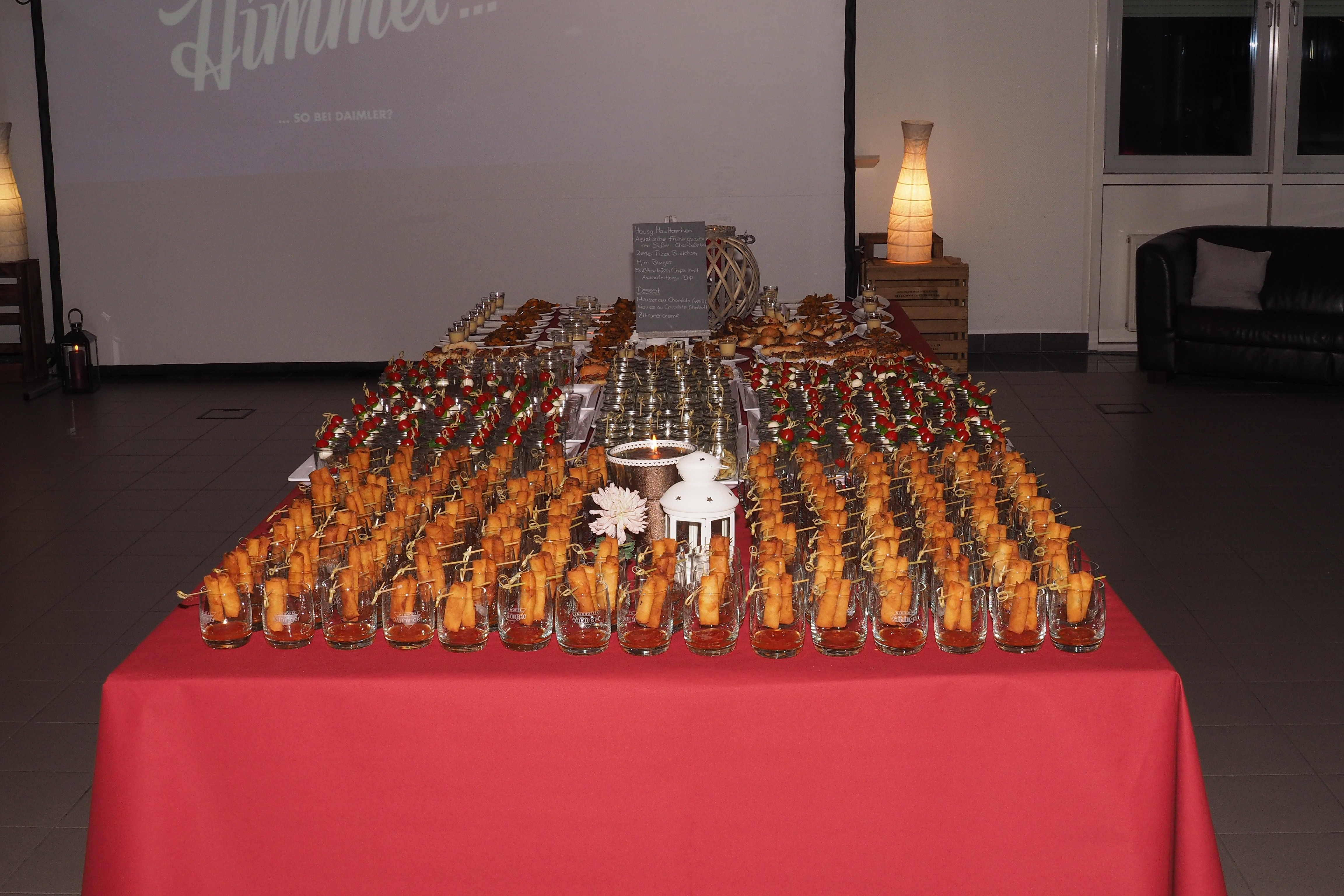 13. Daimler-Christen-Treffen – Buffet