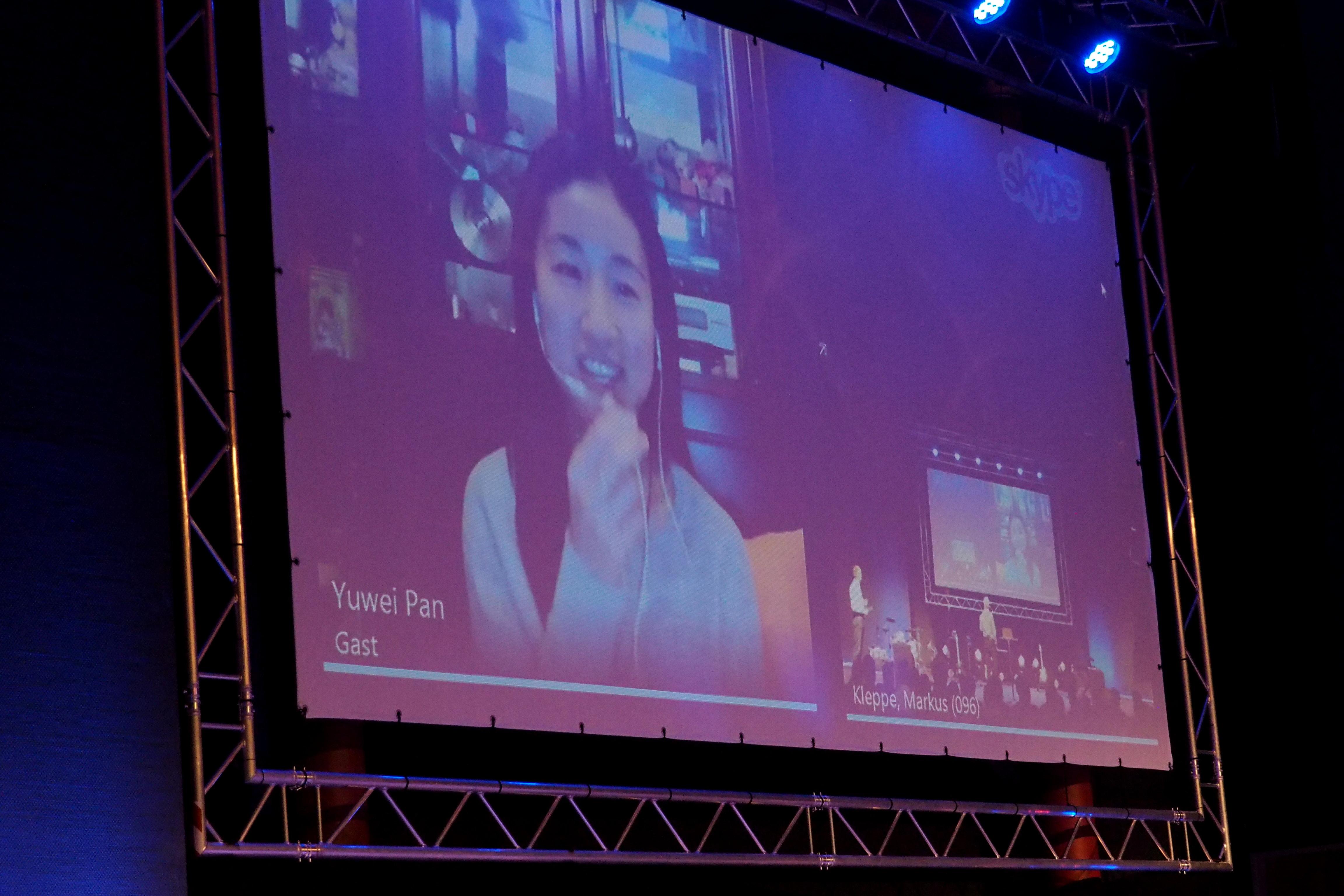 12. Daimler-Christen-Treffen - Yuwei P. live aus live aus Xuzhou (China)