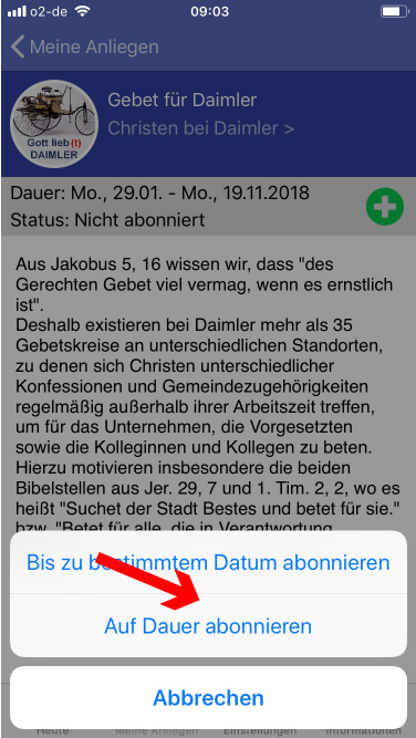Daimler Christen Gebetsapp – 5