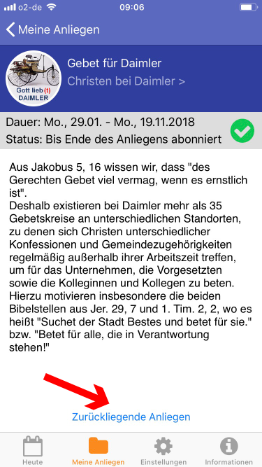 Daimler Christen Gebetsapp – 7
