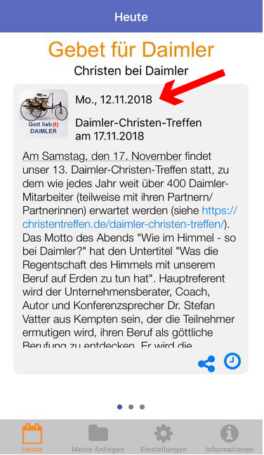 Daimler Christen Gebetsapp 8